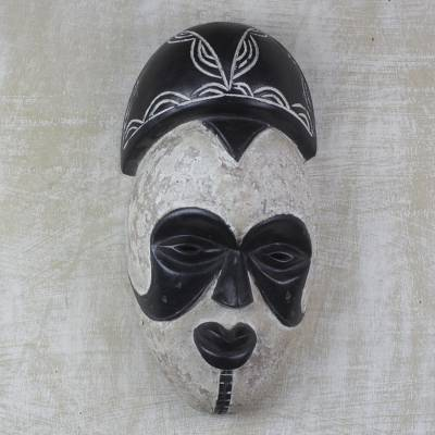 Surprising African Sese Wood Wall Mask Hand Carved In Ghana Igbo Forskolin Free Trial Chair Design Images Forskolin Free Trialorg