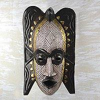 Ashanti wood mask, 'Ghost'