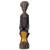 Wood sculpture, 'Regal Mother' - Hand Carved Sese Wood Regal Sitting Mother Sculpture (image 2a) thumbail