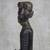Wood sculpture, 'Regal Mother' - Hand Carved Sese Wood Regal Sitting Mother Sculpture (image 2c) thumbail