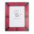 Leather photo frame, 'Passionate Memories' (8x10) - Handcrafted Leather Photo Frame in Red from Ghana (8x10) (image 2a) thumbail