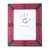 Leather photo frame, 'Passionate Memories' (8x10) - Handcrafted Leather Photo Frame in Red from Ghana (8x10) (image 2f) thumbail