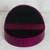Leather jewelry box, 'Fuchsia Semicircle' - Semicircular Leather Jewelry Box in Fuchsia from Ghana (image 2c) thumbail
