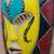 African wood mask, 'Loving Thandi' - Colorful Sese Wood African Mask from Ghana (image 2c) thumbail