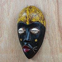 African wood mask, 'Adaoma Woman'