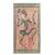 Wood relief panel, 'Fulani Festival Dancer' - Dance-Themed Sese Wood Relief Panel from Ghana (image 2a) thumbail