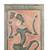 Wood relief panel, 'Fulani Festival Dancer' - Dance-Themed Sese Wood Relief Panel from Ghana (image 2b) thumbail