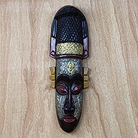 African wood mask, 'Noble Queen'