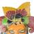 African wood mask, 'Ifama Color' - Colorful African Wood Mask Crafted in Ghana (image 2d) thumbail
