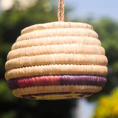 Raffia basket, Cute Homestead