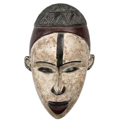Congo Style African Wood Mask