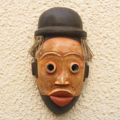 African wood mask, Ogoni Face