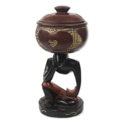 Decorative Wood Home Accent from Ghana