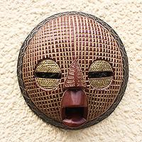 African wood mask, 'Edudzi'