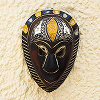 African wood mask, 'Hausa Love'