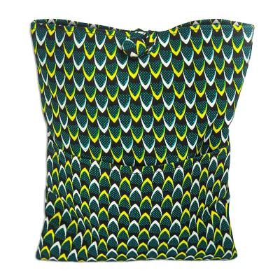 All-Cotton Laptop Sleeve from Ghana