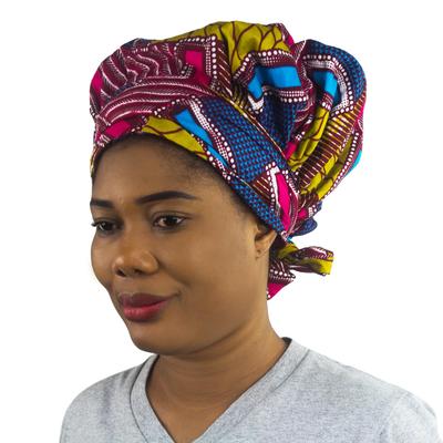 100% Cotton African Print Head Wrap