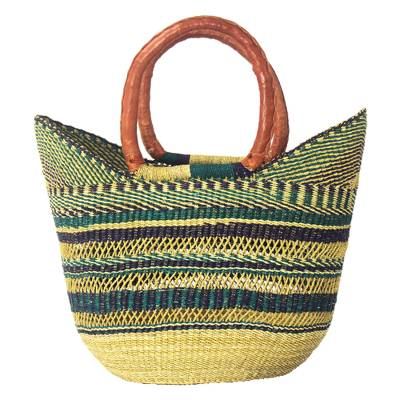 natural fiber tote bag