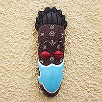 African wood mask, 'Protection Mask III'