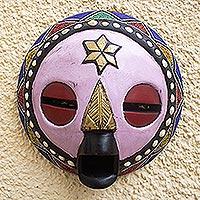 African wood mask, 'Kellan'