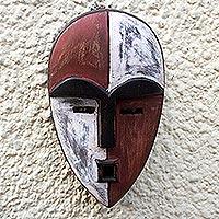 African wood mask, 'Aduma'
