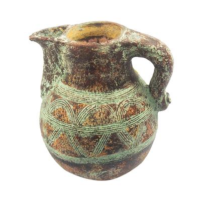 Hand Crafted Decorative Ceramic Bird Pot