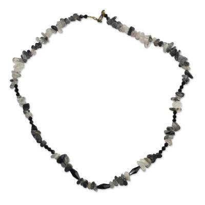Artisan Crafted Agate Beaded Necklace
