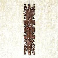 Akan wood mask, 'Osubum'