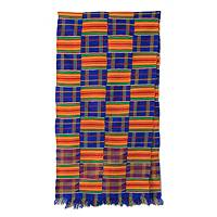 Kente cloth scarf, 'Tribute to Mother'
