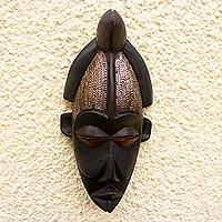 Angolan wood mask,