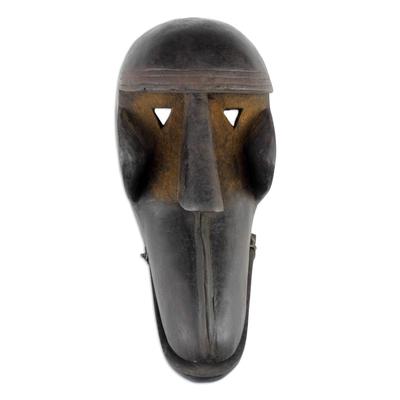 Burkina Faso African wood mask, 'Great Monkey Spirit' - Burkina Faso African wood mask