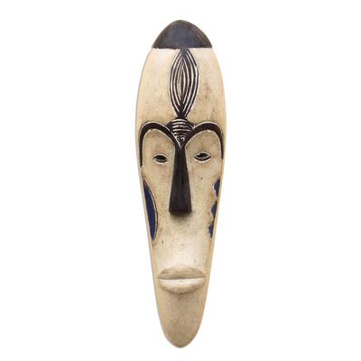 African Gabonese wood mask