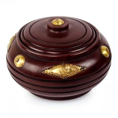 Wood box, 'Love' - Hand Made Decorative Wood Box