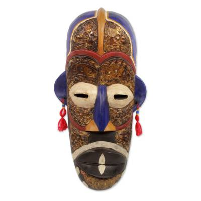 Hausa wood mask, 'Guardian in Death' - Hausa Wood Mask
