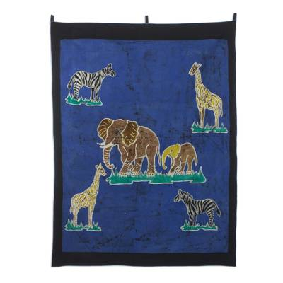 Batik Wall Hanging from Africa