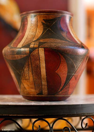 Unicef Market Hand Made Ancient Mexican Archaeological Ceramic