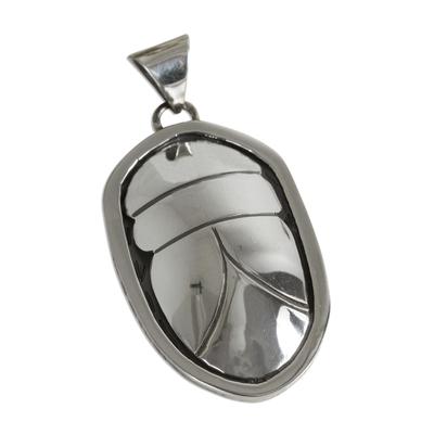 Unique Sterling Silver Bug Pendant