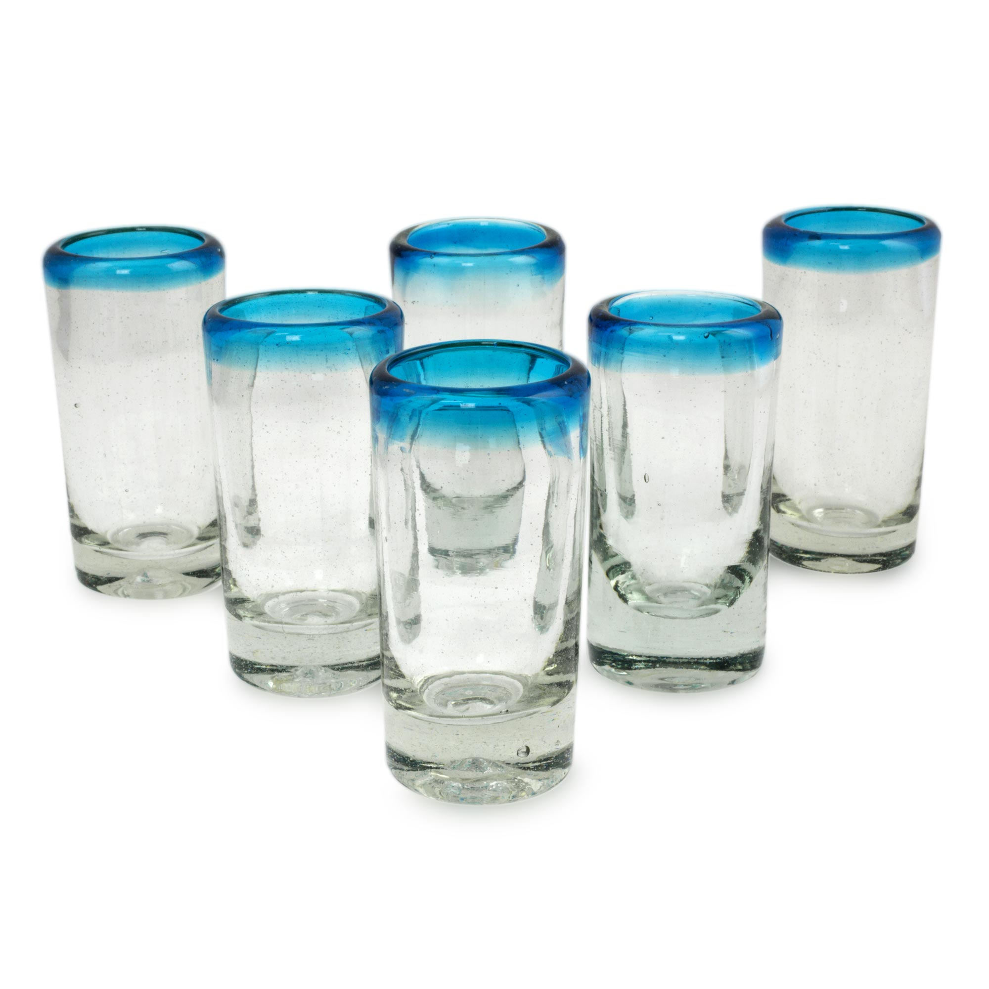 decorative glasses blown tequila overstock shipping product set shot glass home decor energy today free of elegant mexico garden