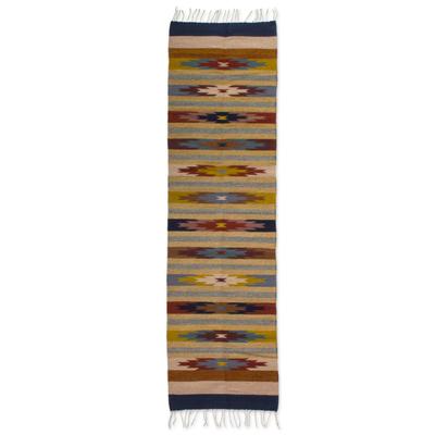 Zapotec Wool Rug (2x8)
