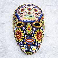 Beadwork mask, 'Eagle Protector'