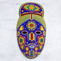 Beadwork mask, 'Life, Fortune and Success'