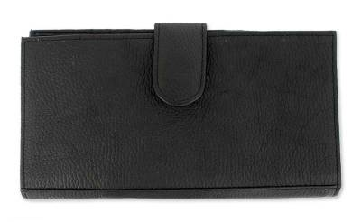 Novica Leather tablet case, Black Cyberspace