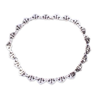 Unique Taxco Silver Sterling Silver Necklace