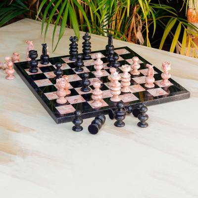 Marble chess set, Glorious Battle (large)