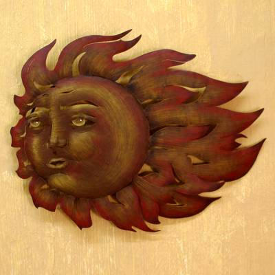 Steel wall art, The Suns Song