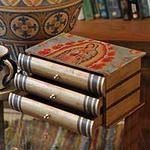 Decoupage decorative box, 'Guadalupe Stories'