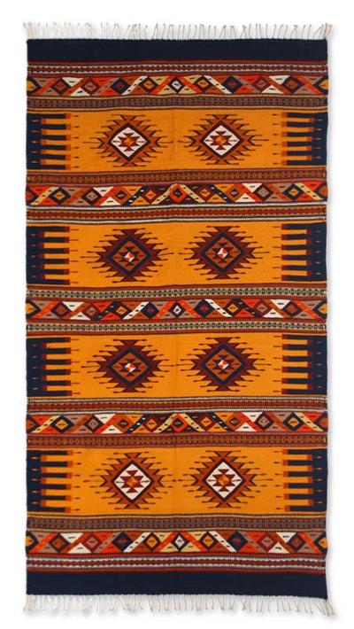 Handcrafted Zapotec Rug (4x7)