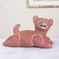 Ceramic figurine, 'Comala Dog'