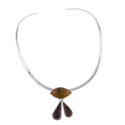 Amber choker, 'Eye of God' - Amber choker