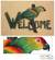 Steel welcome sign, 'Perky Parrot' - Bird Motif Steel Welcome Sign Outdoor Living (image 2) thumbail